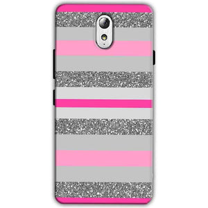 Lenovo Vibe P1m Mobile Covers Cases Pink colour pattern - Lowest Price - Paybydaddy.com