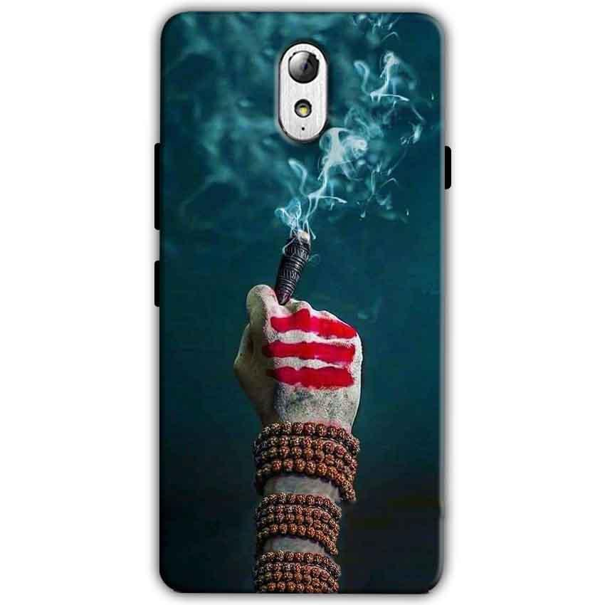 Lenovo Vibe P1m Mobile Covers Cases Shiva Hand With Clilam - Lowest Price - Paybydaddy.com