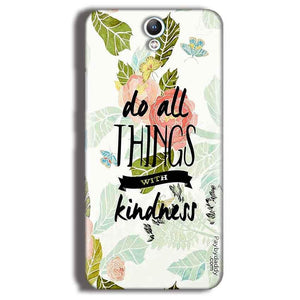 Lenovo Vibe S1 Mobile Covers Cases Do all things with kindness - Lowest Price - Paybydaddy.com