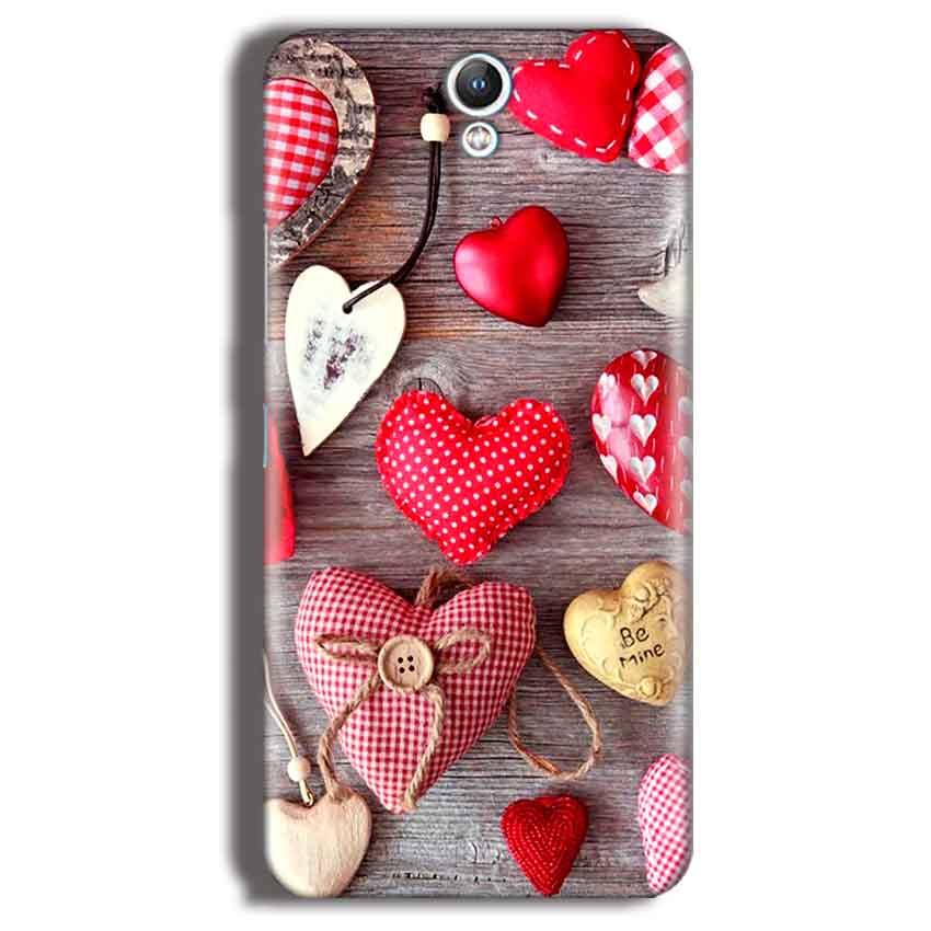 Lenovo Vibe S1 Mobile Covers Cases Hearts- Lowest Price - Paybydaddy.com