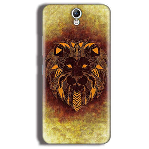 Lenovo Vibe S1 Mobile Covers Cases Lion face art - Lowest Price - Paybydaddy.com