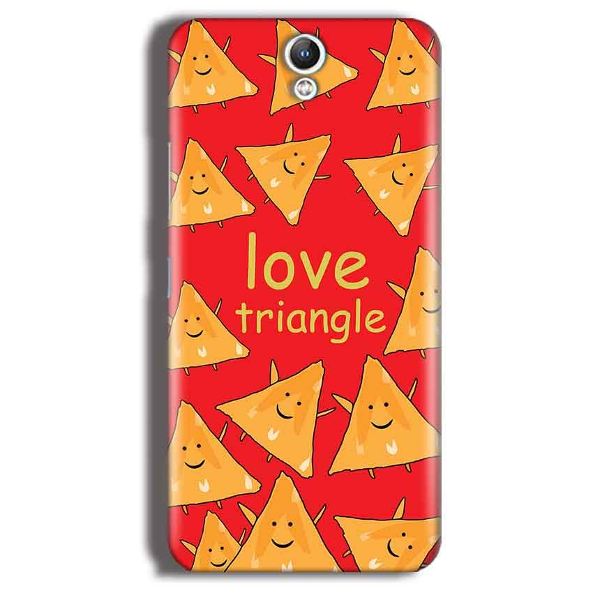 Lenovo Vibe S1 Mobile Covers Cases Love Triangle - Lowest Price - Paybydaddy.com