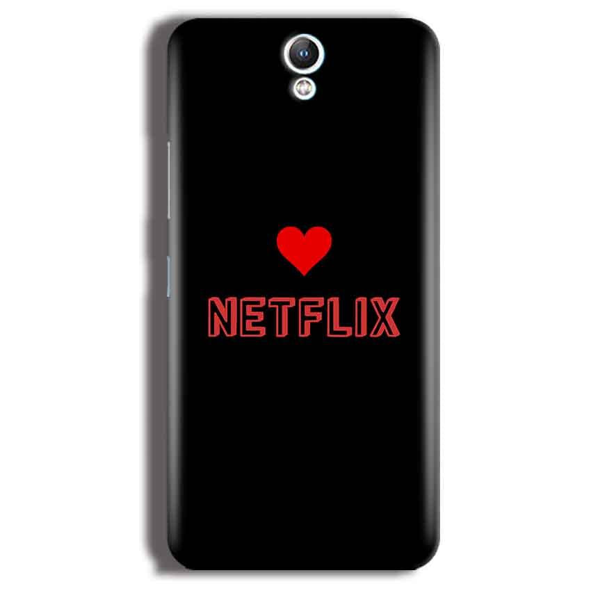 Lenovo Vibe S1 Mobile Covers Cases NETFLIX WITH HEART - Lowest Price - Paybydaddy.com