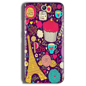 Lenovo Vibe S1 Mobile Covers Cases Paris Sweet love - Lowest Price - Paybydaddy.com