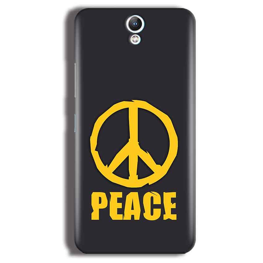 Lenovo Vibe S1 Mobile Covers Cases Peace Blue Yellow - Lowest Price - Paybydaddy.com
