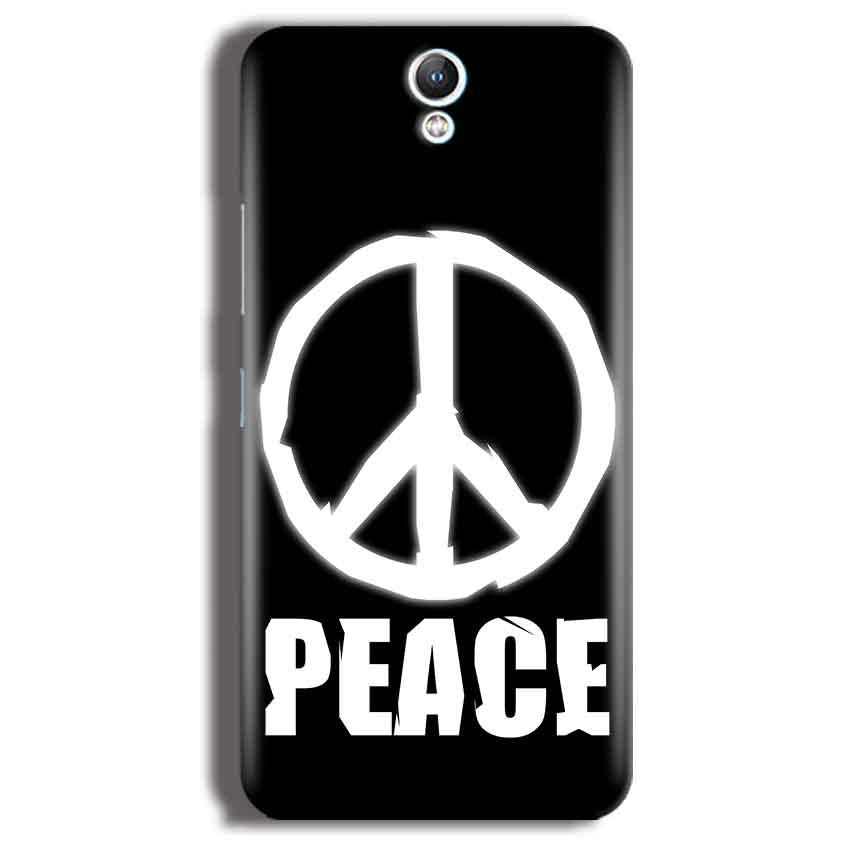 Lenovo Vibe S1 Mobile Covers Cases Peace Sign In White - Lowest Price - Paybydaddy.com