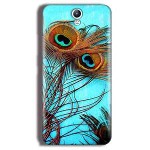 Lenovo Vibe S1 Mobile Covers Cases Peacock blue wings - Lowest Price - Paybydaddy.com