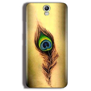 Lenovo Vibe S1 Mobile Covers Cases Peacock coloured art - Lowest Price - Paybydaddy.com
