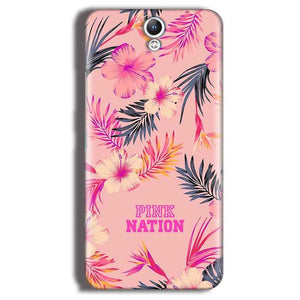 Lenovo Vibe S1 Mobile Covers Cases Pink nation - Lowest Price - Paybydaddy.com