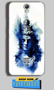 Lenovo Vibe S1 Mobile Covers Cases Shiva Blue White - Lowest Price - Paybydaddy.com
