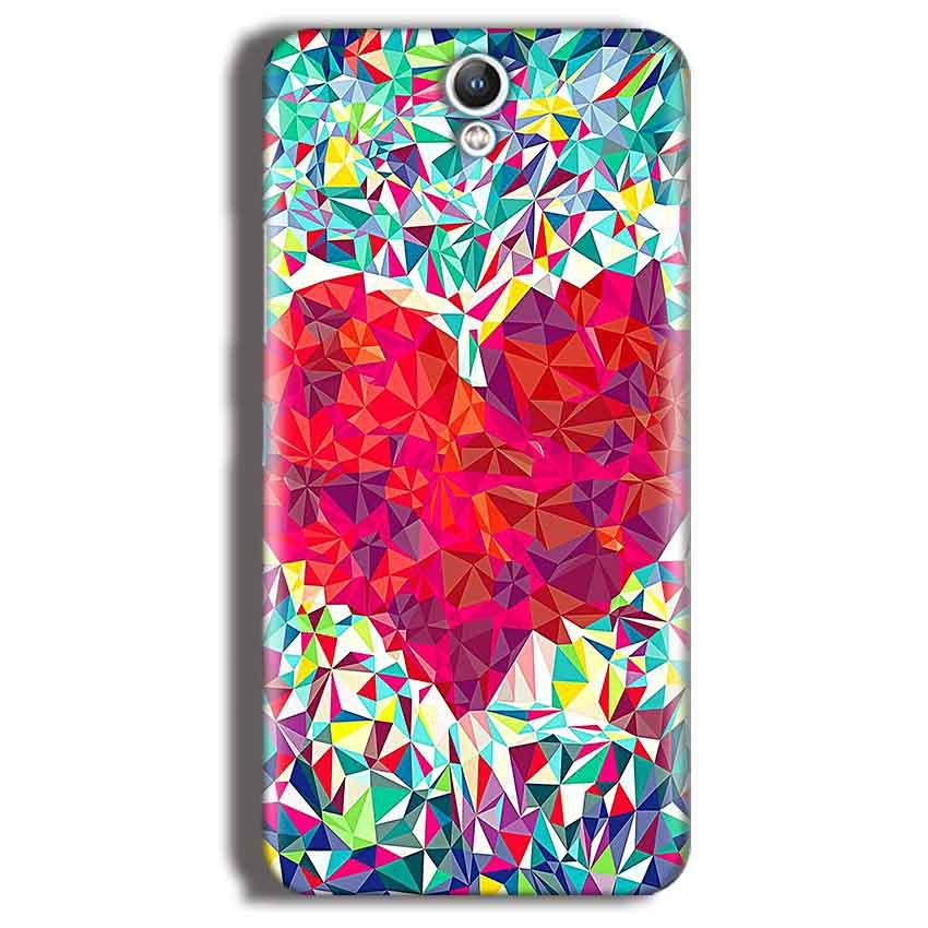 Lenovo Vibe S1 Mobile Covers Cases heart Prisma design - Lowest Price - Paybydaddy.com