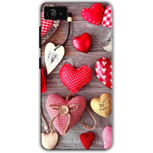 Lenovo Z2 Plus Mobile Covers Cases Hearts- Lowest Price - Paybydaddy.com