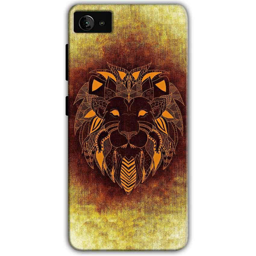 Lenovo Z2 Plus Mobile Covers Cases Lion face art - Lowest Price - Paybydaddy.com
