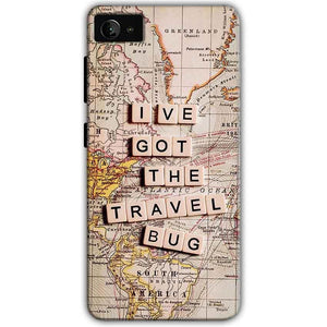 Lenovo Z2 Plus Mobile Covers Cases Live Travel Bug - Lowest Price - Paybydaddy.com
