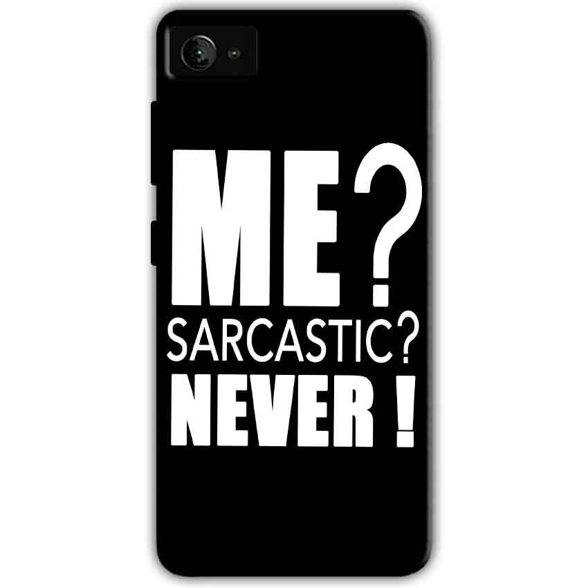 Lenovo Z2 Plus Mobile Covers Cases Me sarcastic - Lowest Price - Paybydaddy.com