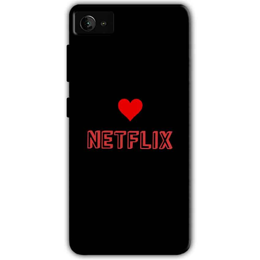 Lenovo Z2 Plus Mobile Covers Cases NETFLIX WITH HEART - Lowest Price - Paybydaddy.com