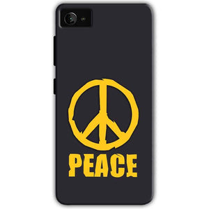 Lenovo Z2 Plus Mobile Covers Cases Peace Blue Yellow - Lowest Price - Paybydaddy.com