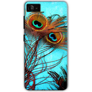 Lenovo Z2 Plus Mobile Covers Cases Peacock blue wings - Lowest Price - Paybydaddy.com