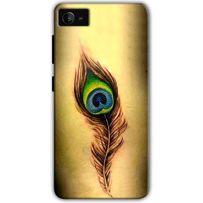 Lenovo Z2 Plus Mobile Covers Cases Peacock coloured art - Lowest Price - Paybydaddy.com