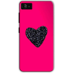 Lenovo Z2 Plus Mobile Covers Cases Pink Glitter Heart - Lowest Price - Paybydaddy.com