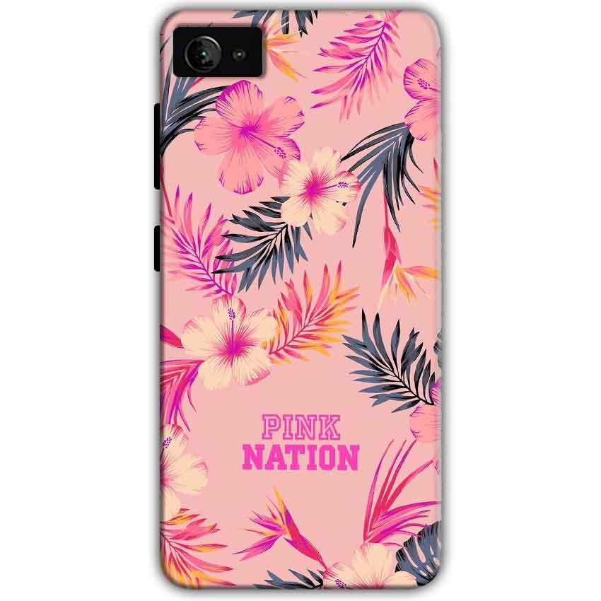 Lenovo Z2 Plus Mobile Covers Cases Pink nation - Lowest Price - Paybydaddy.com
