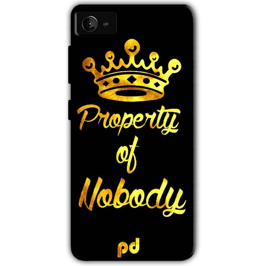 Lenovo Z2 Plus Mobile Covers Cases Property of nobody with Crown - Lowest Price - Paybydaddy.com