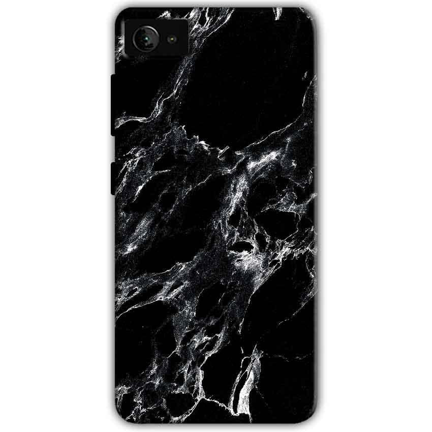 Lenovo Z2 Plus Mobile Covers Cases Pure Black Marble Texture - Lowest Price - Paybydaddy.com