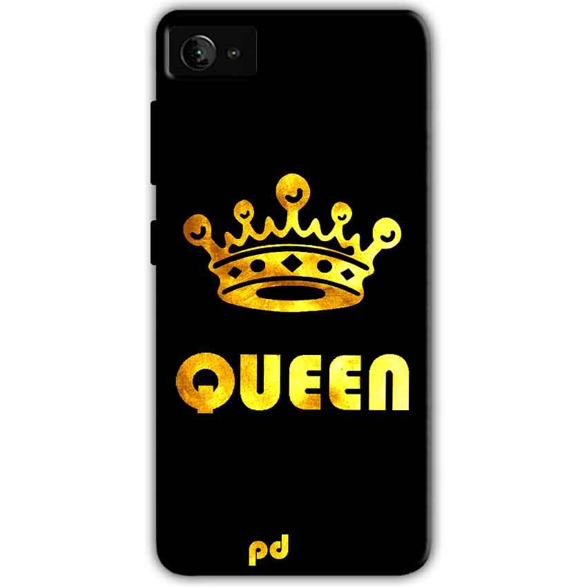 Lenovo Z2 Plus Mobile Covers Cases Queen With Crown in gold - Lowest Price - Paybydaddy.com