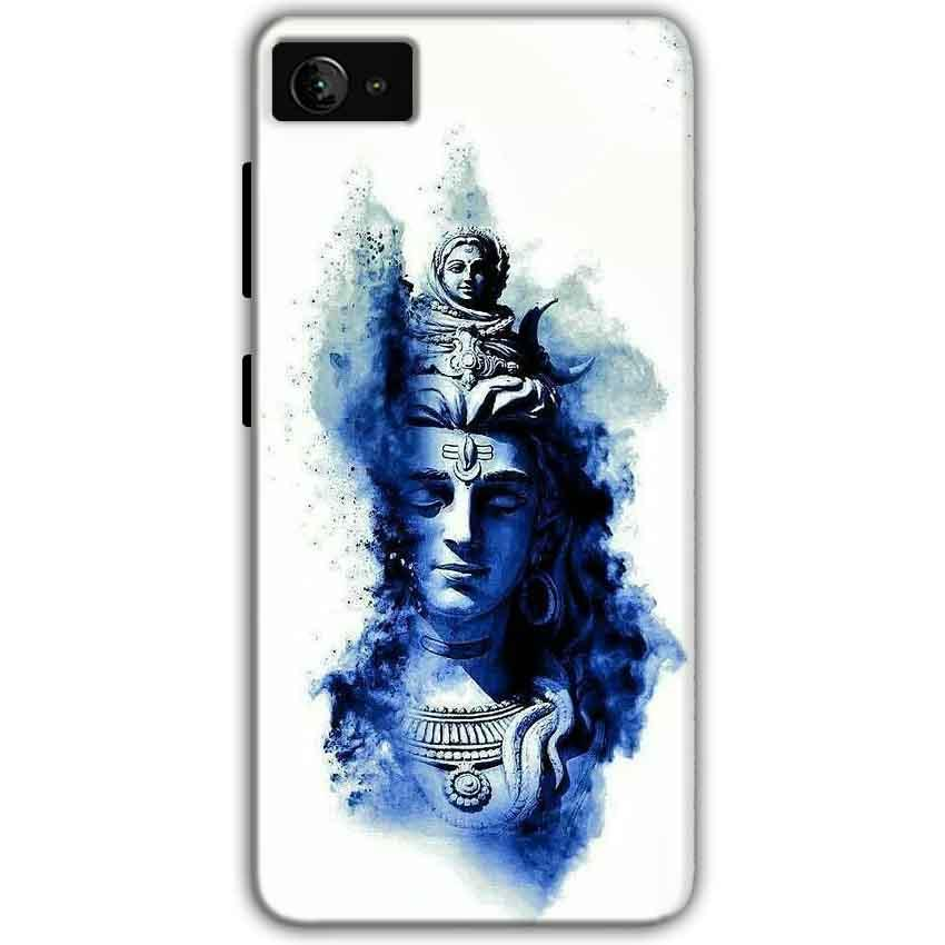 Lenovo Z2 Plus Mobile Covers Cases Shiva Blue White - Lowest Price - Paybydaddy.com