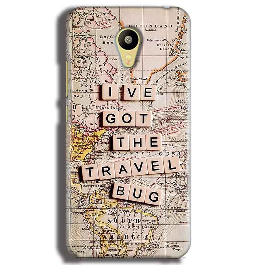Meizu M3 Mobile Covers Cases Live Travel Bug - Lowest Price - Paybydaddy.com