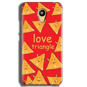 Meizu M3 Mobile Covers Cases Love Triangle - Lowest Price - Paybydaddy.com