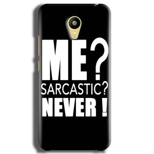 Meizu M3 Mobile Covers Cases Me sarcastic - Lowest Price - Paybydaddy.com