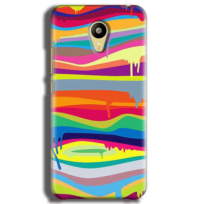 Meizu M3 Mobile Covers Cases Melted colours - Lowest Price - Paybydaddy.com
