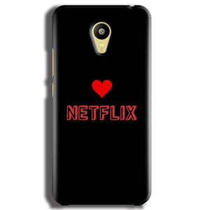 Meizu M3 Mobile Covers Cases NETFLIX WITH HEART - Lowest Price - Paybydaddy.com