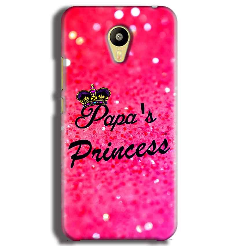 Meizu M3 Mobile Covers Cases PAPA PRINCESS - Lowest Price - Paybydaddy.com