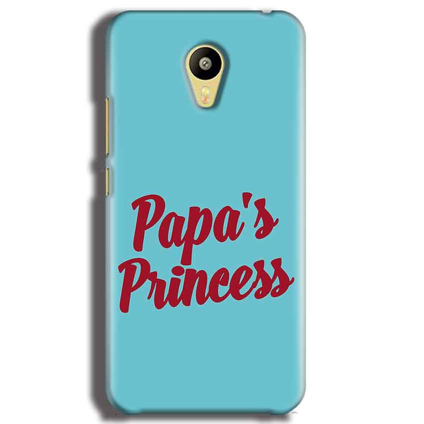 Meizu M3 Mobile Covers Cases Papas Princess - Lowest Price - Paybydaddy.com