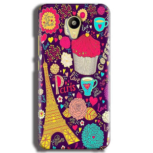 Meizu M3 Mobile Covers Cases Paris Sweet love - Lowest Price - Paybydaddy.com