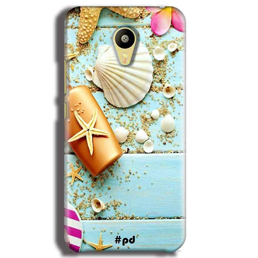 Meizu M3 Mobile Covers Cases Pearl Star Fish - Lowest Price - Paybydaddy.com