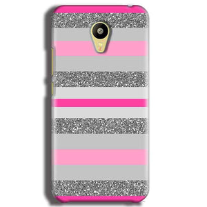 Meizu M3 Mobile Covers Cases Pink colour pattern - Lowest Price - Paybydaddy.com