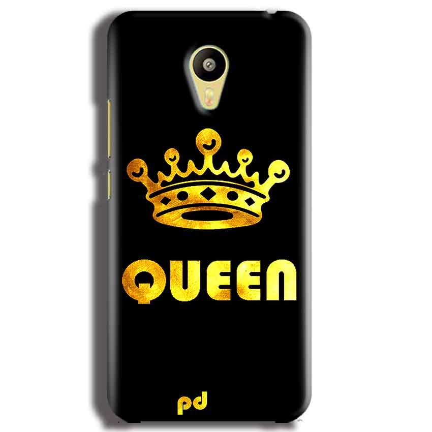 Meizu M3 Mobile Covers Cases Queen With Crown in gold - Lowest Price - Paybydaddy.com