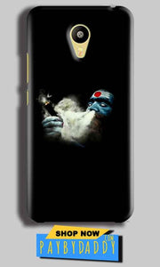 Meizu M3 Mobile Covers Cases Shiva Aghori Smoking - Lowest Price - Paybydaddy.com