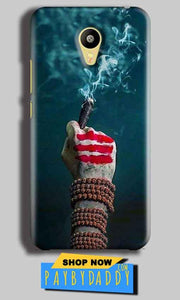 Meizu M3 Mobile Covers Cases Shiva Hand With Clilam - Lowest Price - Paybydaddy.com