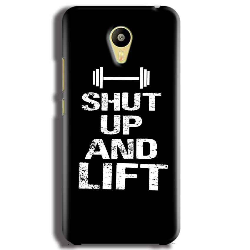 Meizu M3 Mobile Covers Cases Shut Up And Lift - Lowest Price - Paybydaddy.com