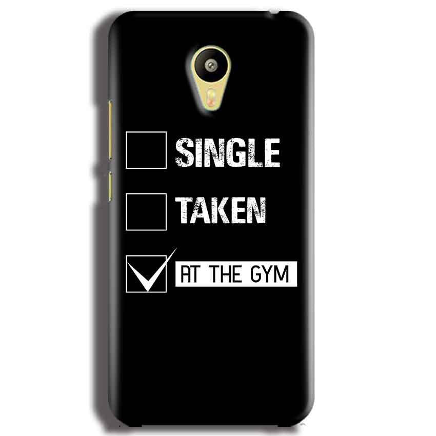 Meizu M3 Mobile Covers Cases Single Taken At The Gym - Lowest Price - Paybydaddy.com