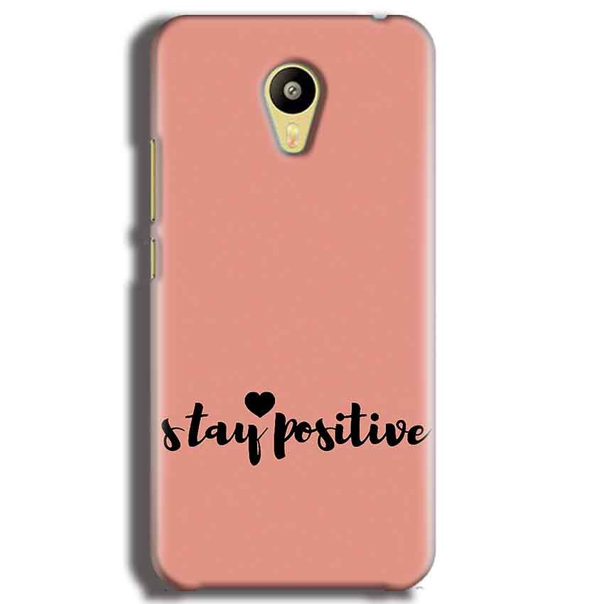 Meizu M3 Mobile Covers Cases Stay Positive - Lowest Price - Paybydaddy.com