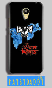 Meizu M3 Mobile Covers Cases om namha shivaye with damru - Lowest Price - Paybydaddy.com