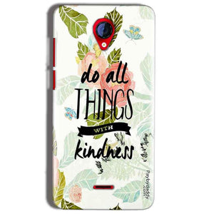Micromax A106 Unite 2 Mobile Covers Cases Do all things with kindness - Lowest Price - Paybydaddy.com