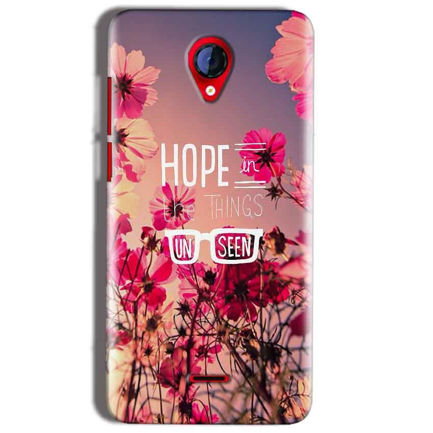 Micromax A106 Unite 2 Mobile Covers Cases Hope in the Things Unseen- Lowest Price - Paybydaddy.com