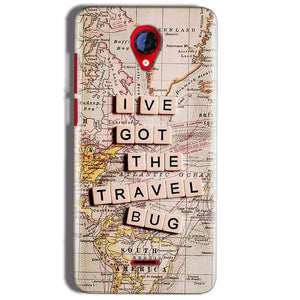 Micromax A106 Unite 2 Mobile Covers Cases Live Travel Bug - Lowest Price - Paybydaddy.com