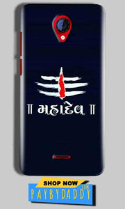 Micromax A106 Unite 2 Mobile Covers Cases Mahadev - Lowest Price - Paybydaddy.com
